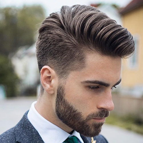 Best Mens Haircuts For Thick Hair Comb Over Friseur