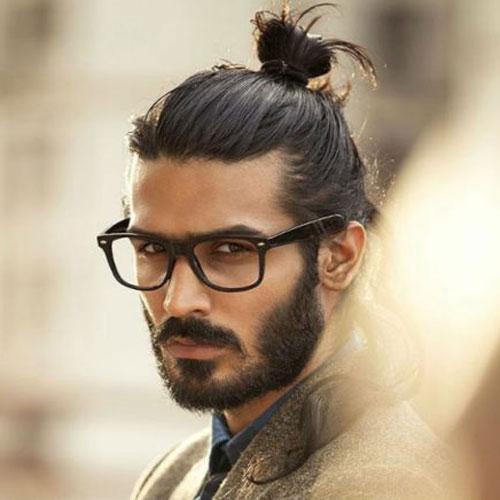 Cool-Man-Bun-with-Beard