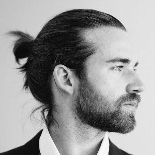 Man-Bun-With-Beard