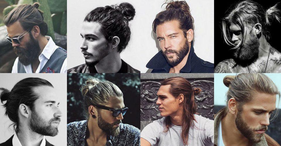 Mann Brötchen Frisur