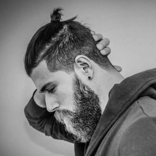 Undercut-Top-Knot-How-To-Tie-A-Top-Knot